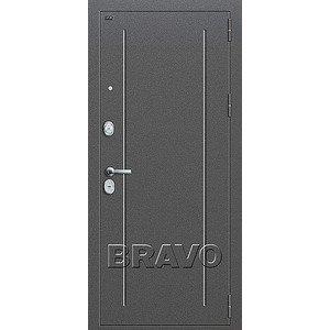 Входная дверь T2-220 Антик Серебро/Wenge Veralinga