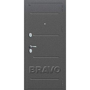 Входная дверь Т2-223 Антик Серебро/Bianco Veralinga