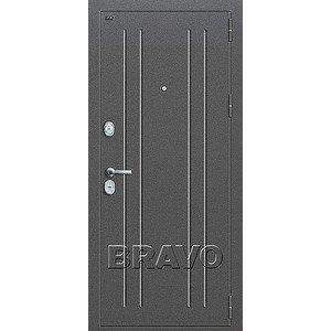 Входная дверь T2-232 Антик Серебро/Virgin