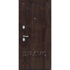 Входная дверь T3-223 П-28 (Темная Вишня)/Bianco Veralinga