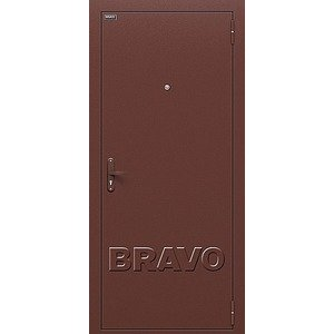 Входная дверь Билд Антик Медь/М-11 (ИталОрех)