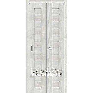 Складная дверь Порта-21 Bianco Veralinga
