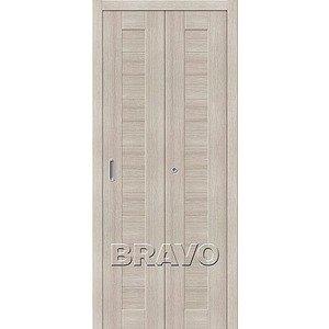 Складная дверь Порта-21 Cappuccino Veralinga