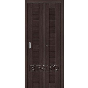 Складная дверь Порта-21 Wenge Veralinga