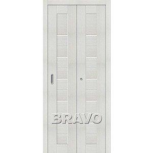 Складная дверь Порта-22 Bianco Veralinga