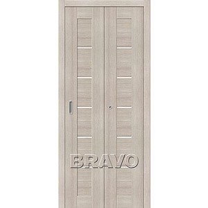 Складная дверь Порта-22 Cappuccino Veralinga
