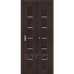 Складная дверь Порта-22 Wenge Veralinga