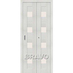 Складная дверь Порта-23 Bianco Veralinga