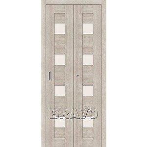 Складная дверь Порта-23 Cappuccino Veralinga