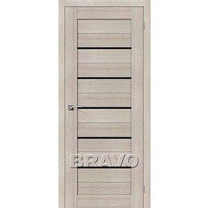 Дверь межкомнатная Порта-22 Cappuccino Veralinga/Black Star
