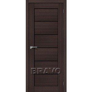 Дверь межкомнатная Порта-22 Wenge Veralinga/Black Star