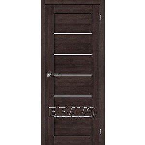 Дверь межкомнатная Порта-22 Wenge Veralinga/Magic Fog