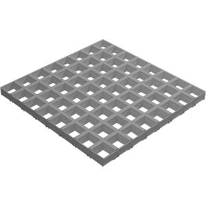 Грильято GL-24 100*100*34 - Металлик