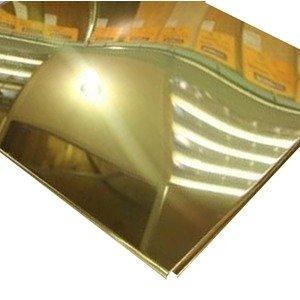 Кассетный потолок Cesal ОС Line Т-24 (Т-15) 595х595 Золотистый жемчуг AL 0,56мм 36шт/кор.